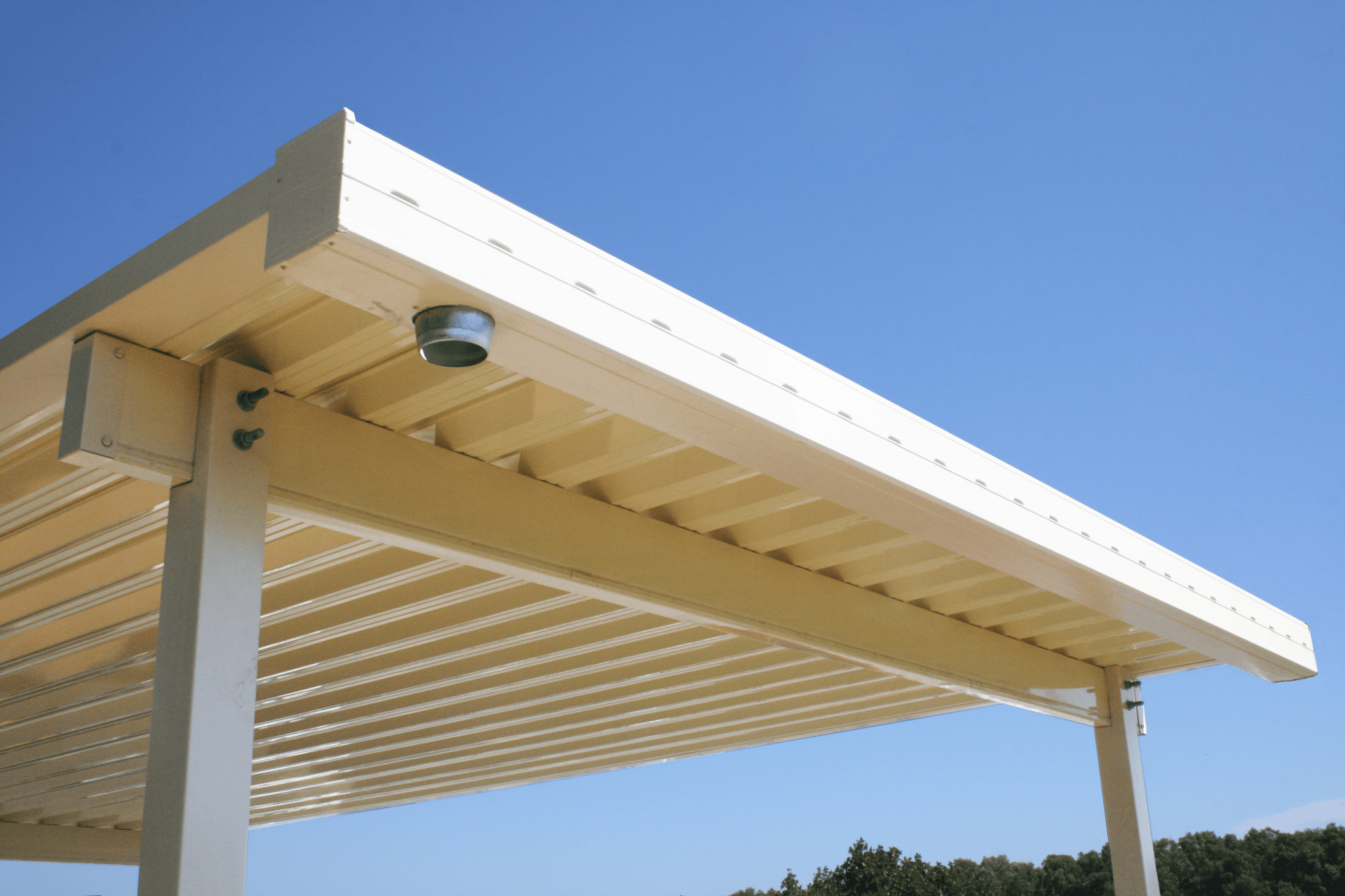 Spanmax W Carport providing Australia's longest unsupported spans