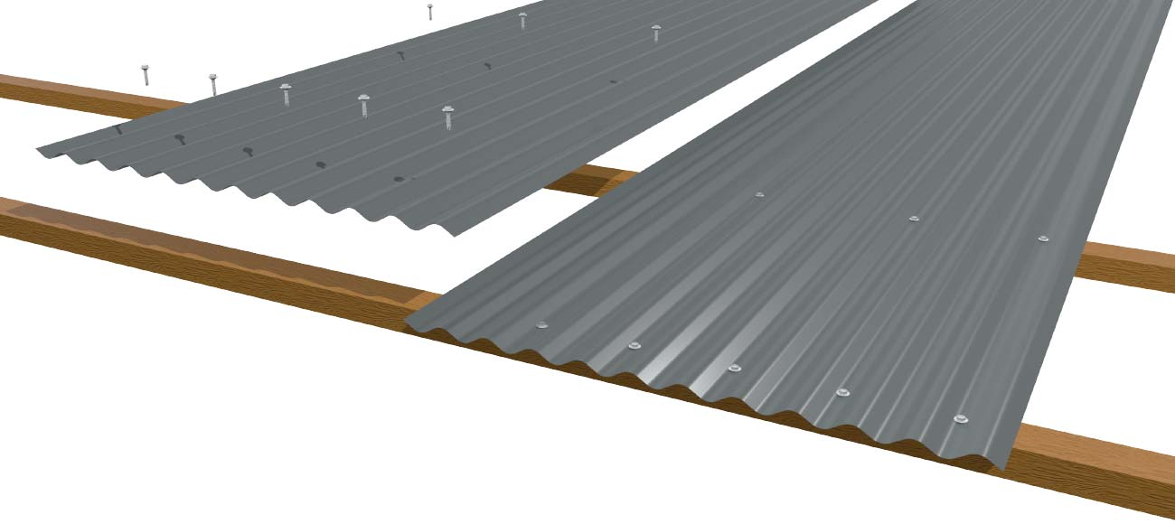 cladding-roofing-sheeting-walling-corrugated-wall-laying