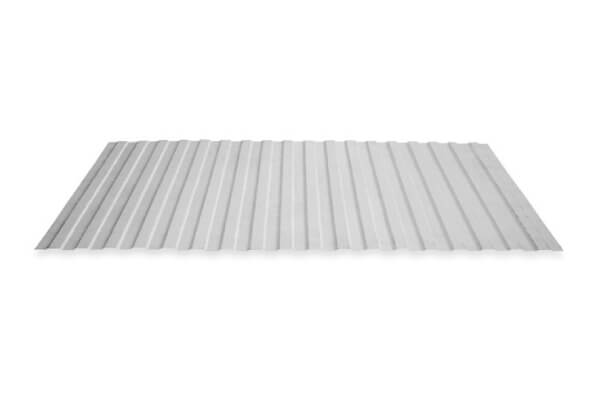 Grey color mini rib roofing sheet