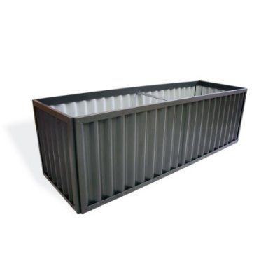 Corrugated garden beds