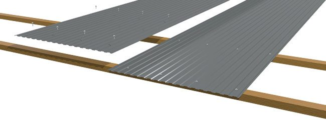 cladding-roofing-sheeting-walling-mini-rib-laying