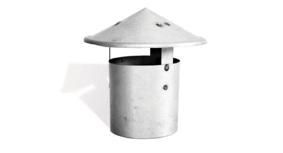 Grey color custom made chinaman's hats