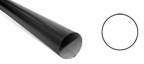 Metal Round Downpipes