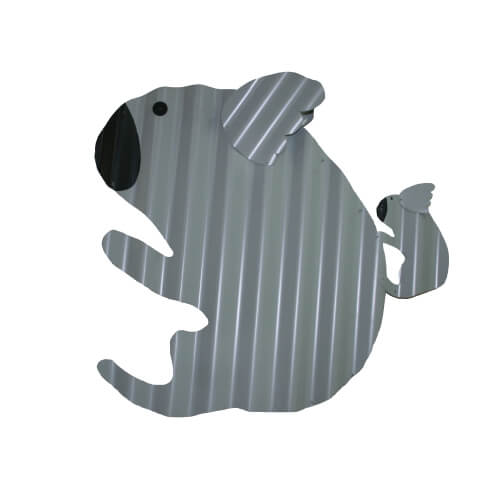 Colorbond sheet metal koala