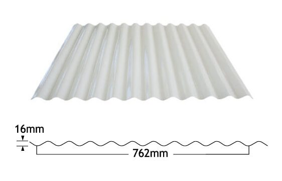 Corrugated Fibreglass