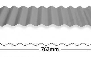 Corrugated sheeting