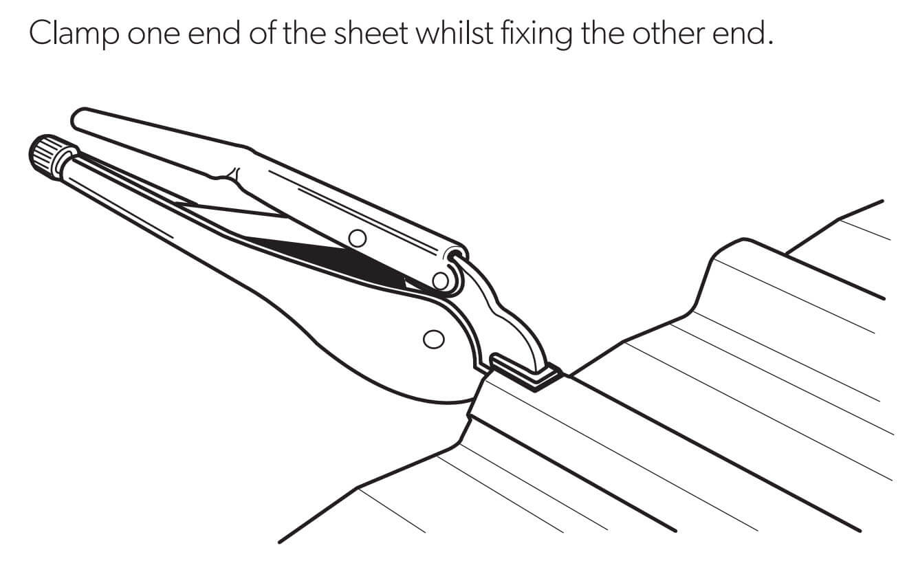 clamping-roof-sheets