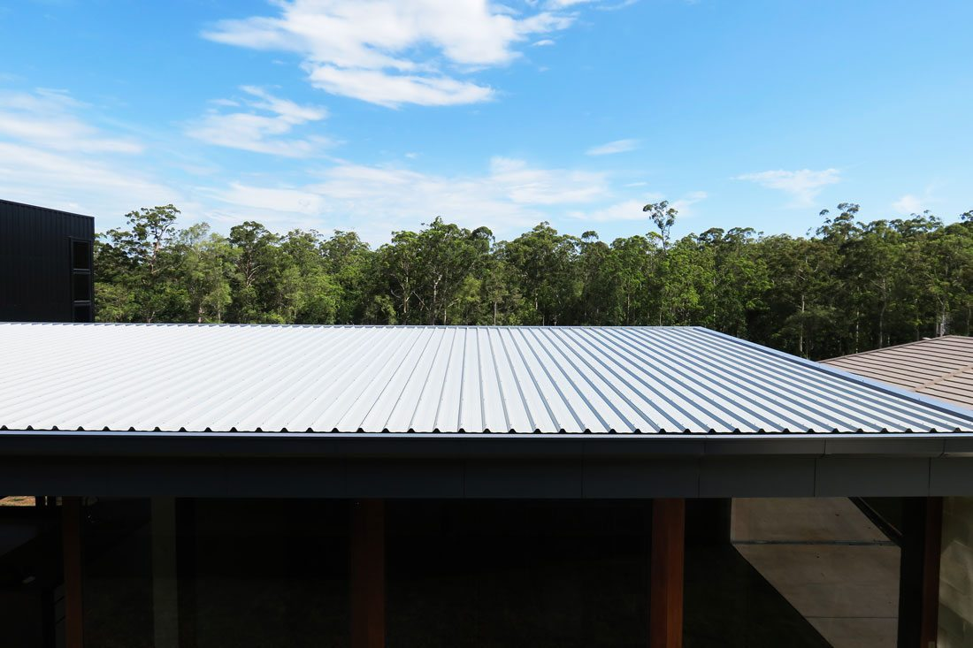 Broas blue color metal sheet roof