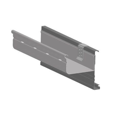 150 hi-front gutter overflow solution