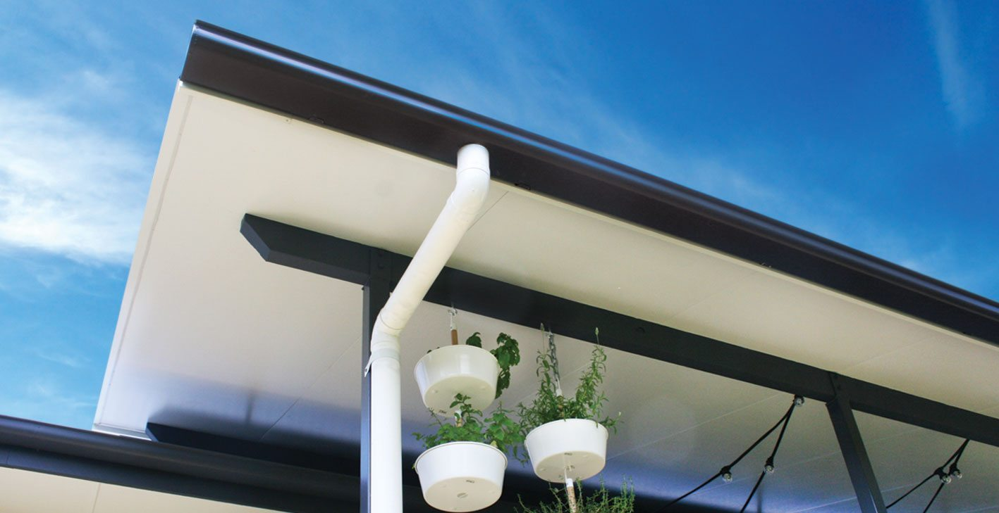 Domestic roof drainage systems