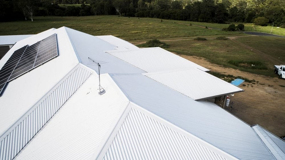 Metal roofing options for big spaces
