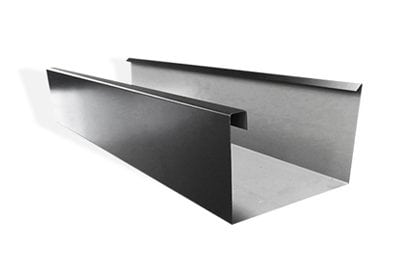 Low Front Commerciqal Eaves Gutter