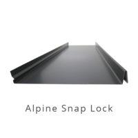 Alpine Snap Lock Architectural Cladding